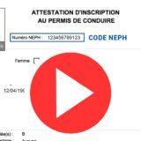 Comment s'inscrire gratuitement au permis de conduire : tuto ants pour recevoir son numéro neph